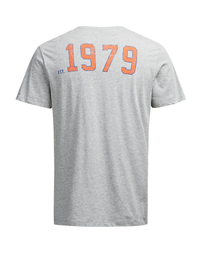 NHL PRINT T-SHIRT, Light Grey Melange, large
