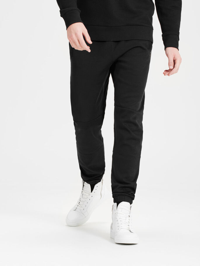 PERFORMANCE SWEAT PANTS, Black, large