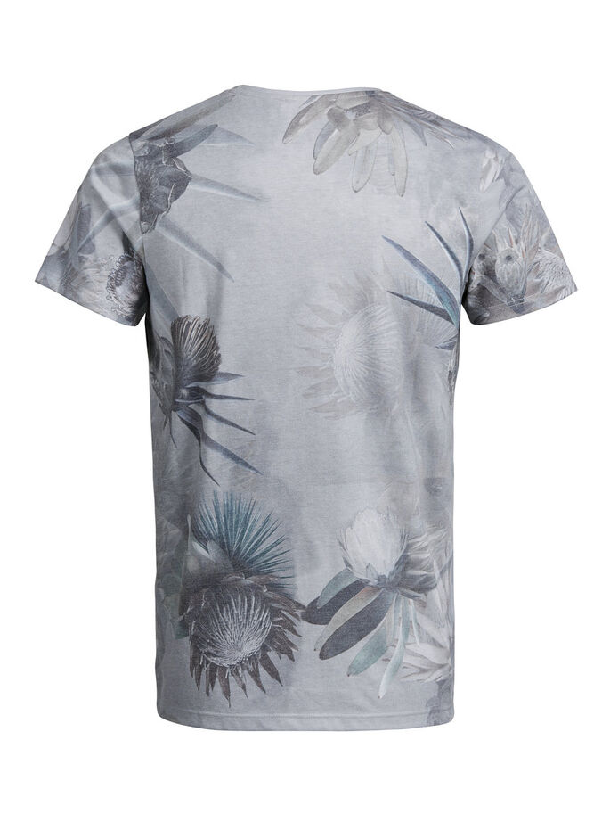 BLOEMENPRINT T-SHIRT, Egret, large