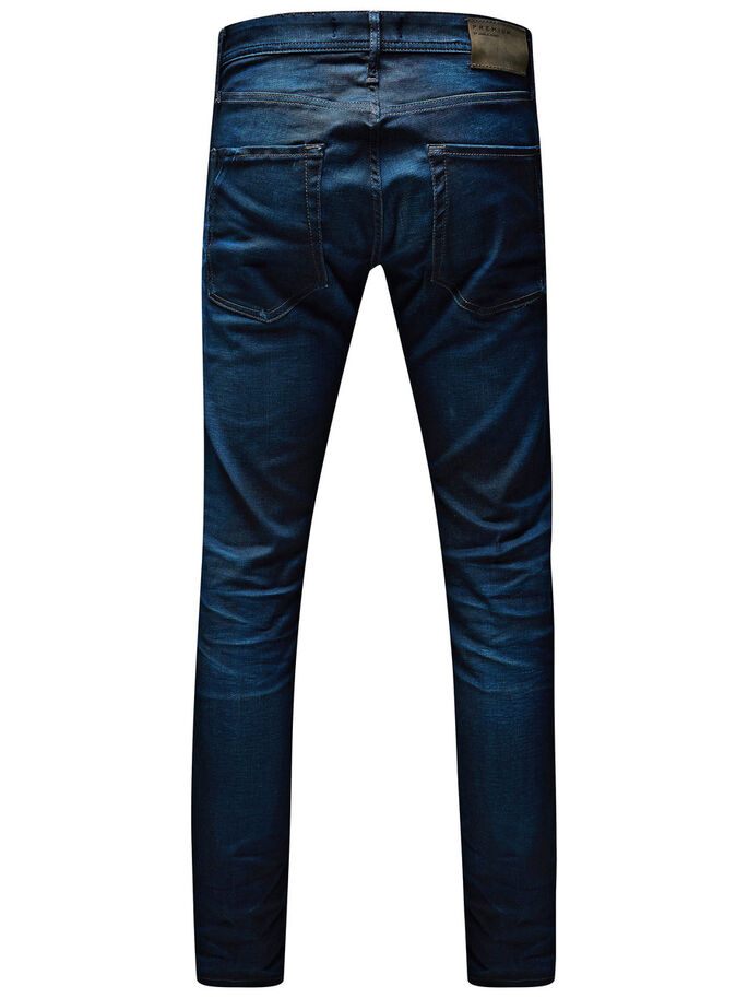 TIM CLASSIC 820 SLIM FIT JEANS, Medium Blue Denim, large