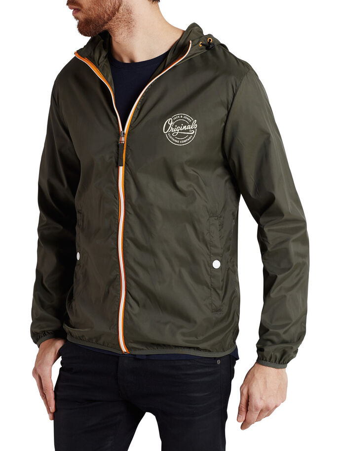 LIGHT JACKET, Forest Night, large