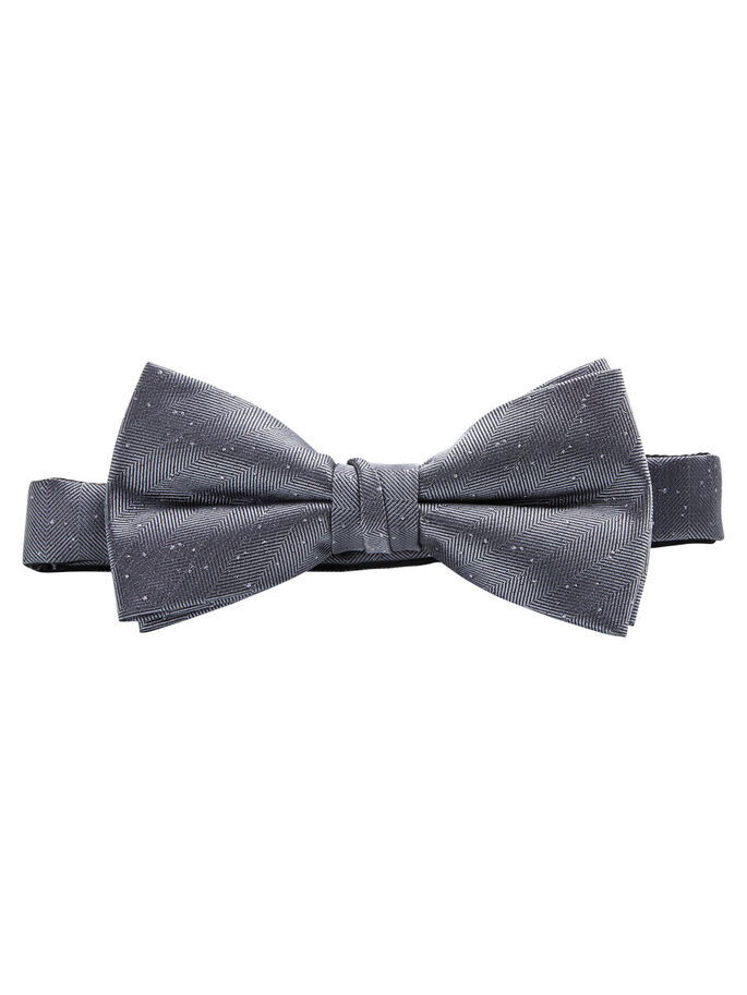 FLECKED BOW TIE, Cool Grey, large