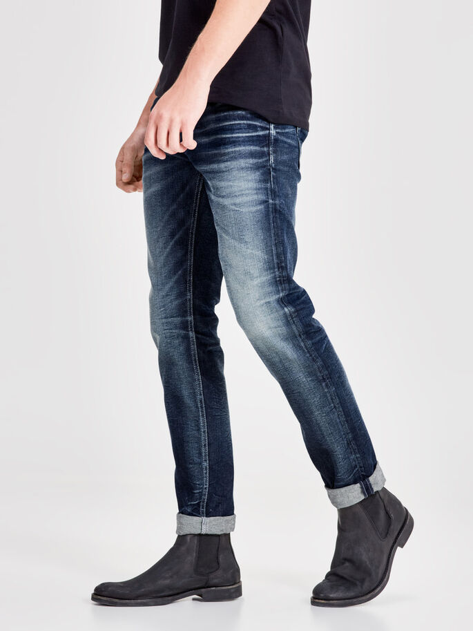 TIM ORIGINAL 977 JEANS SLIM FIT, Blue Denim, large