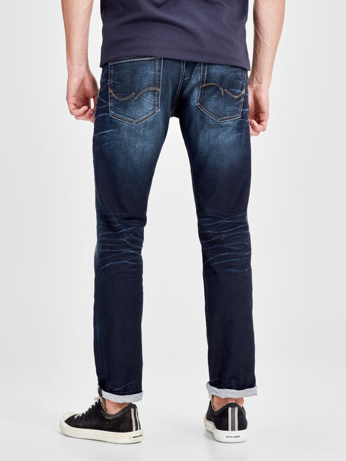 TIM ORIGINAL JOS 819 SLIM FIT JEANS, Blue Denim, large