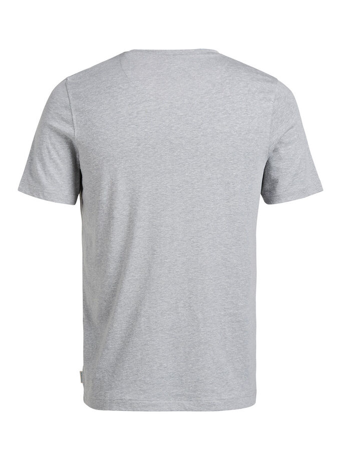 FRESH T-SHIRT, Light Grey Melange, large