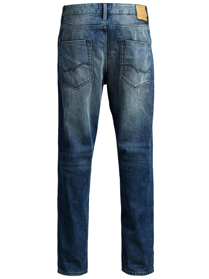 ERIK THOMAS AKM 970 JEAN ANTI-FIT, Blue Denim, large