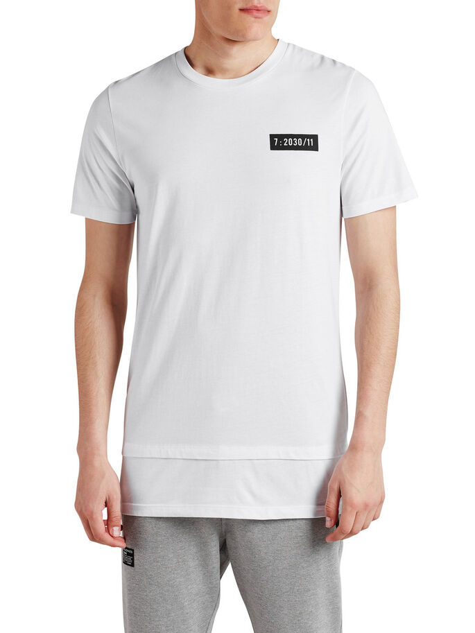 CON DETALLES CAMISETA, White, large
