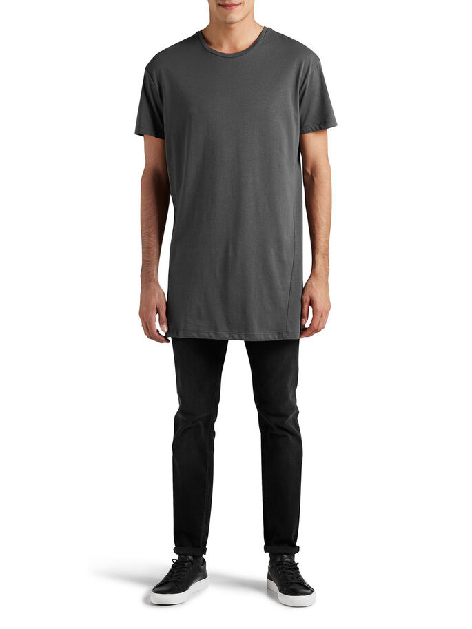 BOX FIT T-SHIRT, Asphalt, large