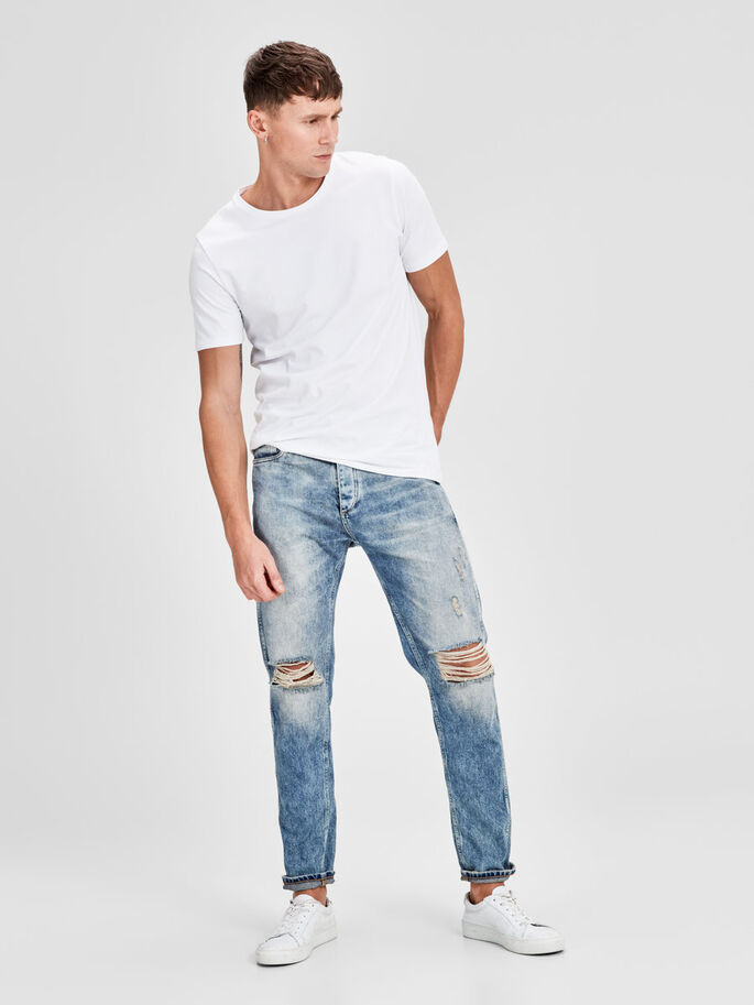 ERIK ORIGINAL JOS 171 ANTI-FIT-JEANS, Blue Denim, large