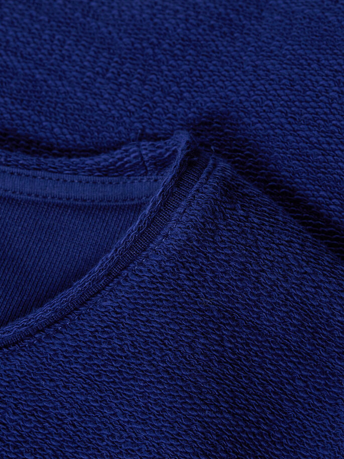 GEWENDETES SWEATSHIRT, Blue Depths, large