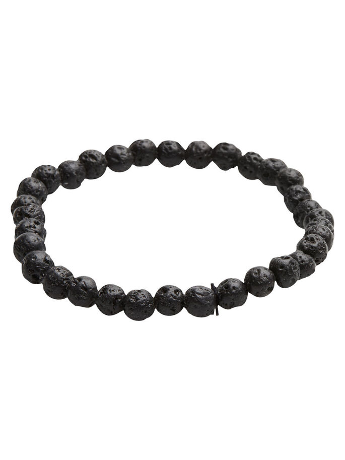 BEAD BRACELET, Black, large