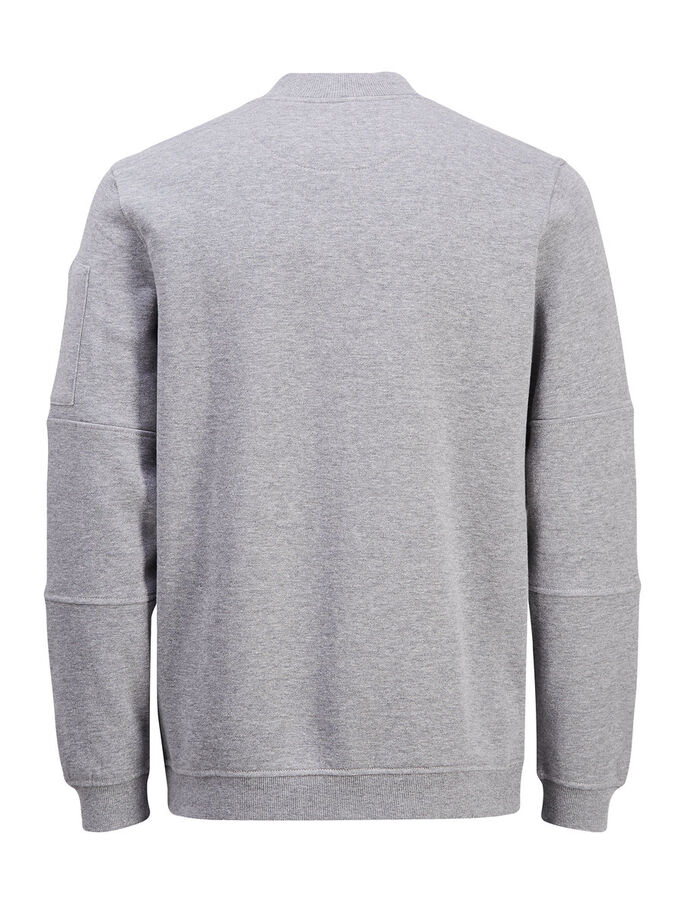 KLASSISK SWEATSHIRT, Light Grey Melange, large