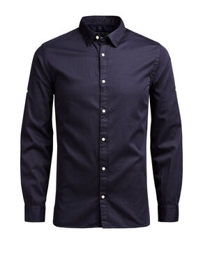PRINTED SLIM FIT LONG SLEEVED SHIRT