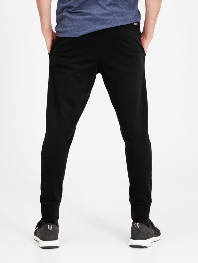 COMODI PANTALONI IN FELPA, Black, large