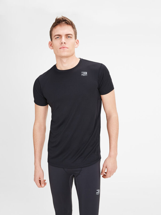 PERFORMANCE SPORT T-SHIRT, Black, large