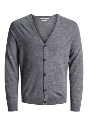 SUPER FINE MERINO WOOL CARDIGAN