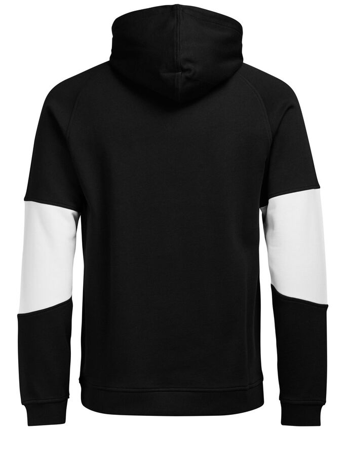 SWEAT HOODIE, Black, large