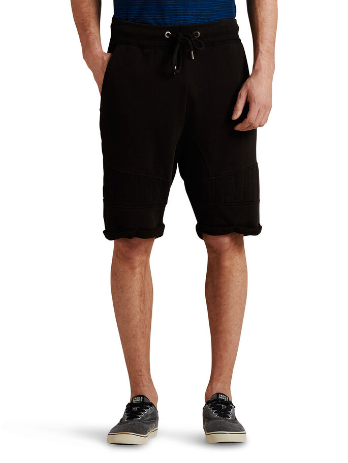 ÁSPERO SHORTS DE DEPORTE, Black, large
