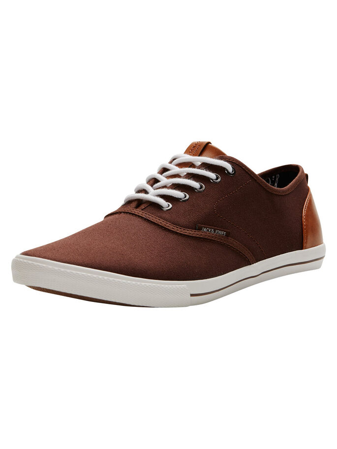 CANVAS SNEAKERS, Potting Soil, large