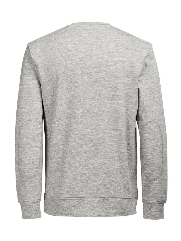 C-90 SWEATSHIRT, Light Grey Melange, large