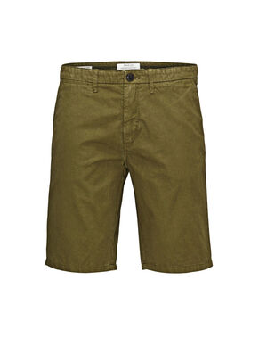 OLIVE NIGHT CHINO SHORTS