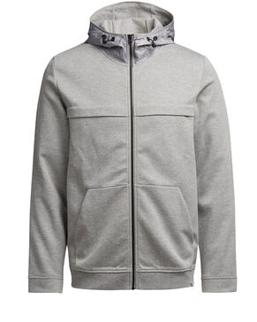 DETAILED ZIPPED SWEAT