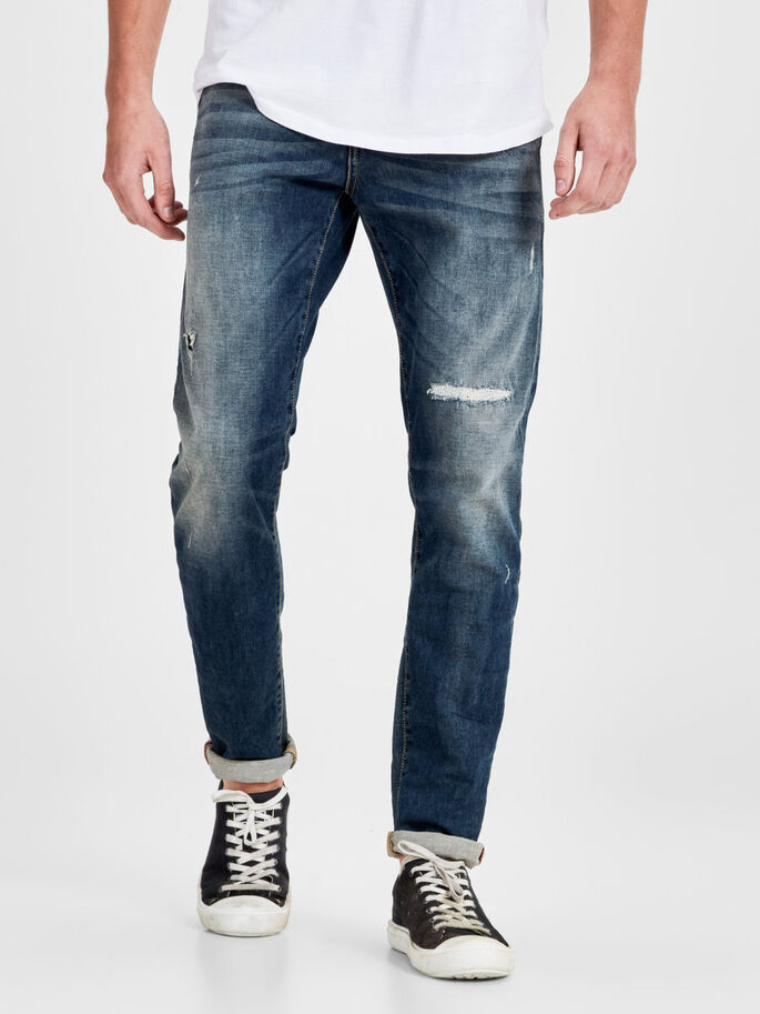 GLENN BL 670 JEANS SLIM FIT, Blue Denim, large