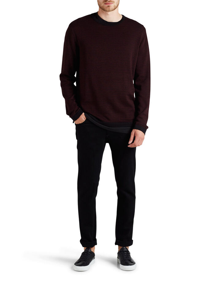 STRUKTURERT PULLOVER, Port Royale, large