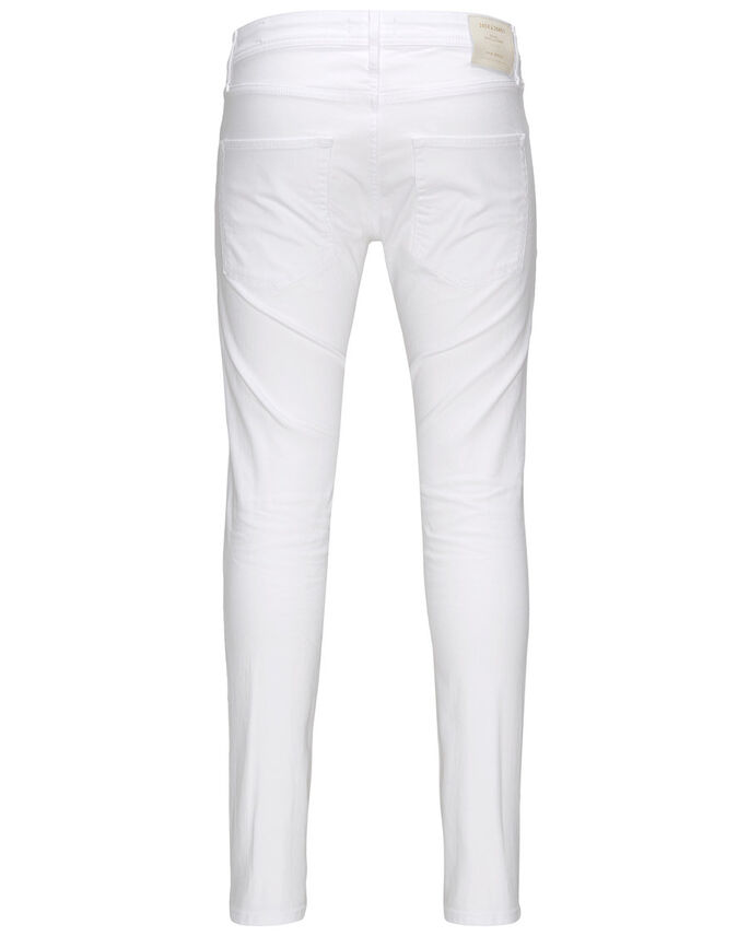 GLENN ORIGINAL JOS 121 JEANS SLIM FIT, White, large