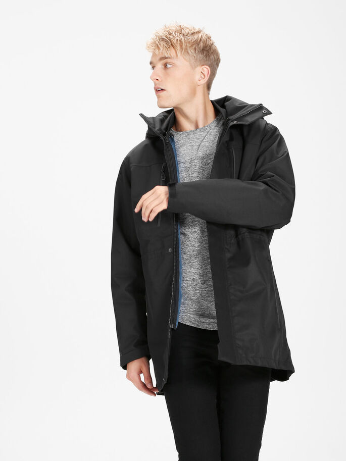 3-IN-1- PARKA, Black, large