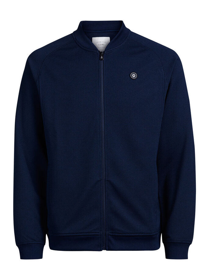 BASEBALL JACKET, Navy Blazer, large