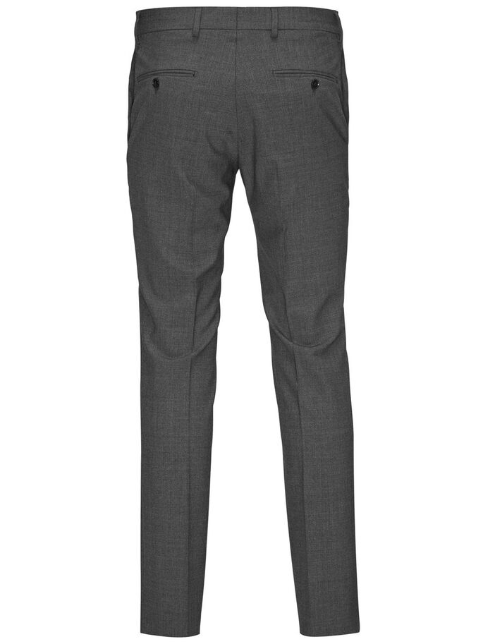 CLASSIQUE REGULAR FIT PANTALONS, Dark Grey, large