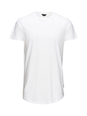 SCHLICHTES LONG-FIT- T-SHIRT