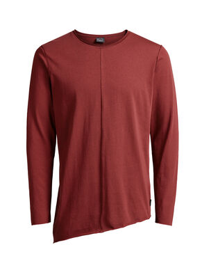 LONGER LENGTH LONG-SLEEVED T-SHIRT