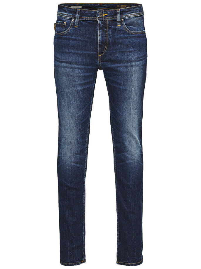 BEN ORIGINAL SC 310 SKINNY FIT JEANS, Blue Denim, large