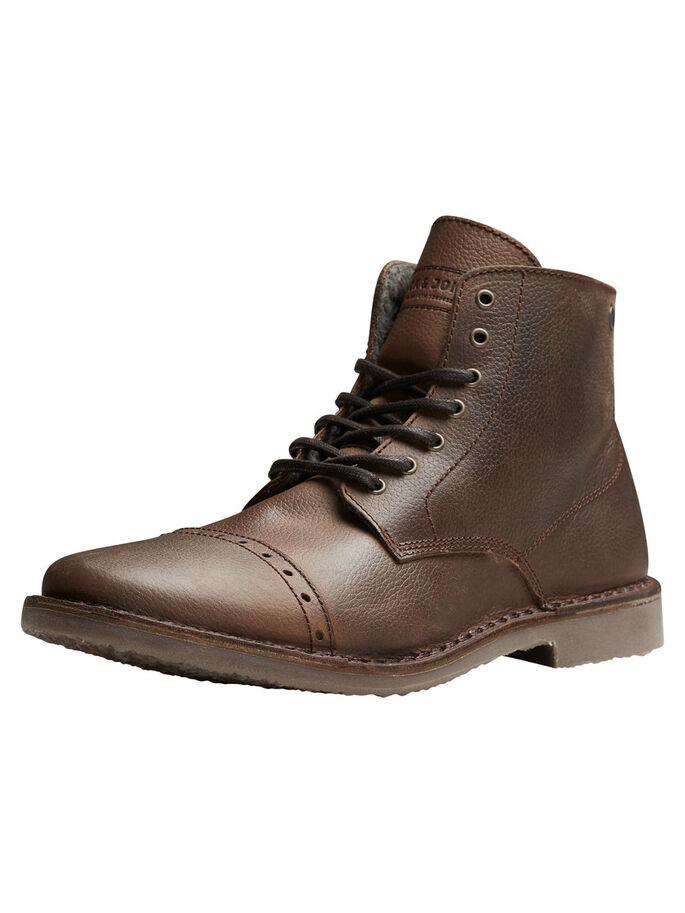 DE PIEL DE GRAN CALIDEZ BOTAS, Brown Stone, large