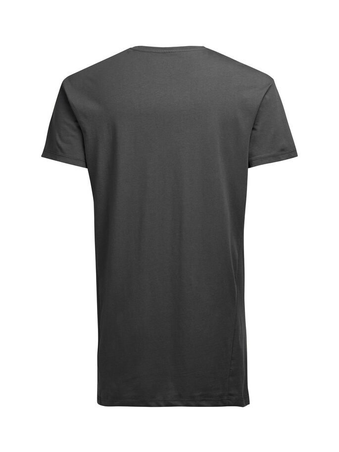BOX-FIT- T-SHIRT, Asphalt, large