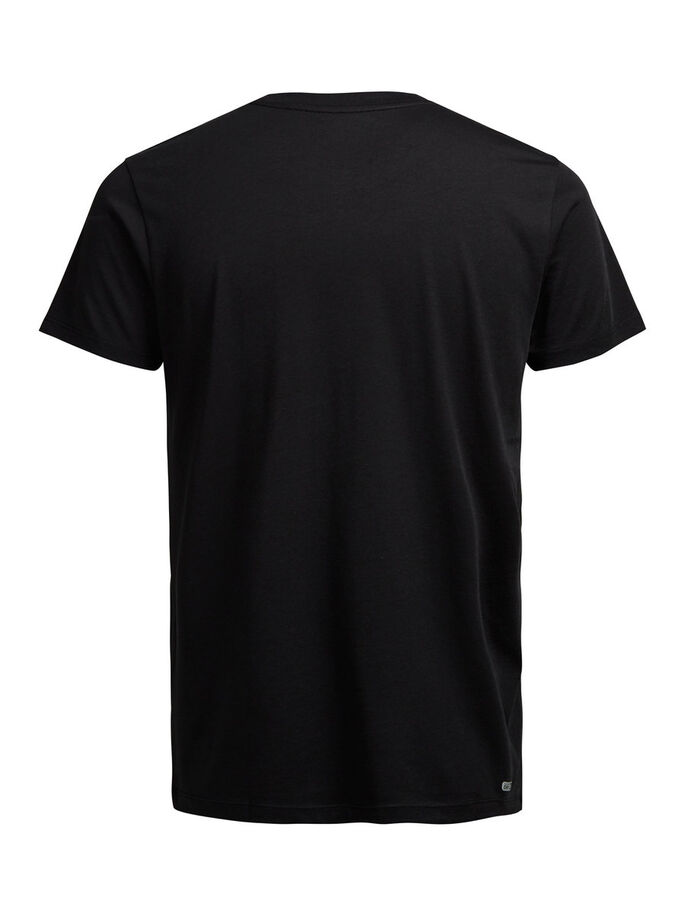 IMPRIMÉ T-SHIRT, Black, large