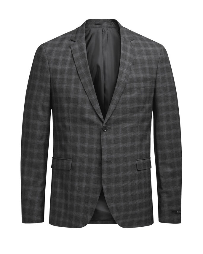 A QUADRI BLAZER, Dark Grey, large