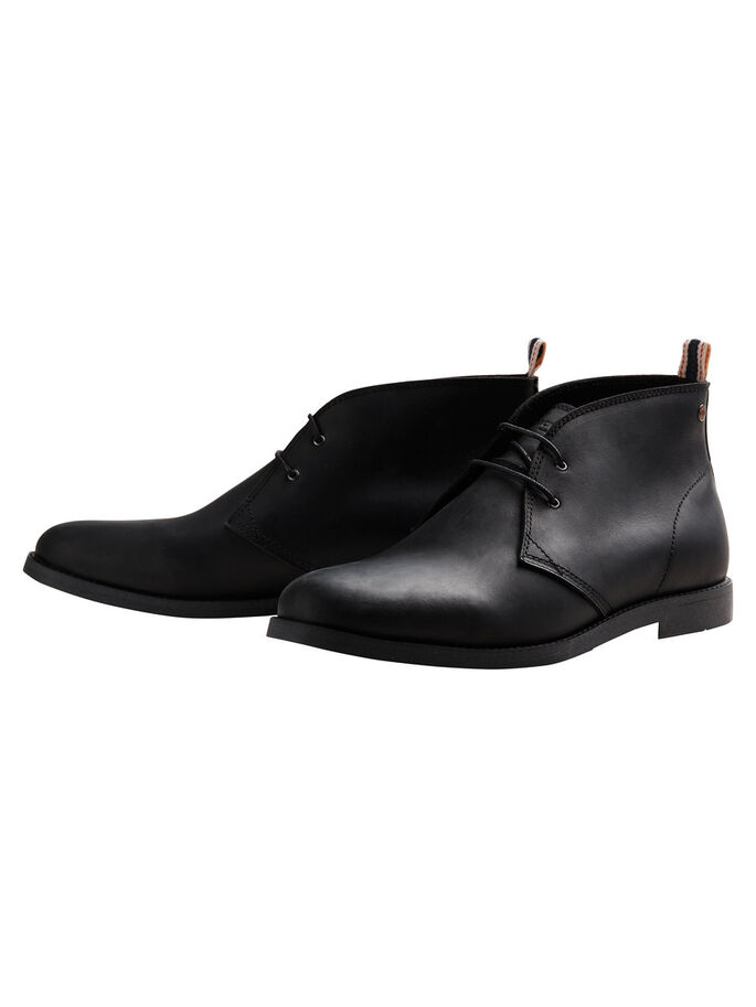 CHUKKA BOOTS, Black, large