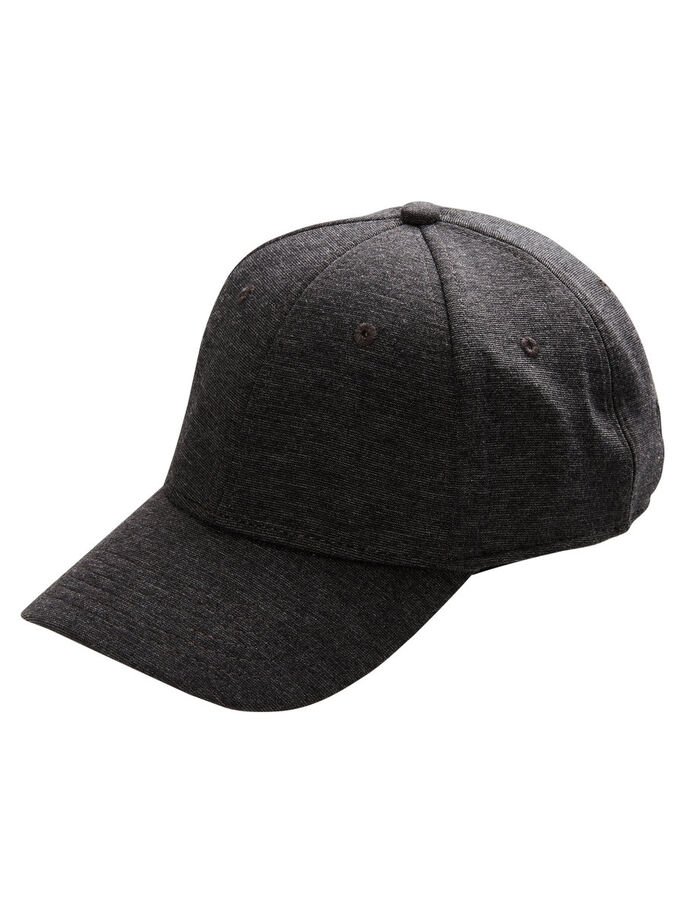 BASEBALL CAP, Dark Grey, large