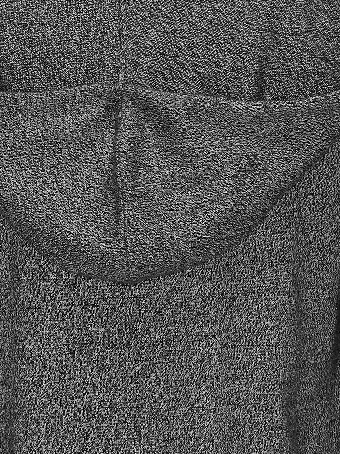 LÄSSIG GESTRICKTE STRICKJACKE, Black, large