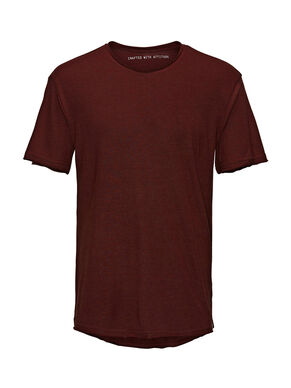 SOLID LONG FIT T-SHIRT
