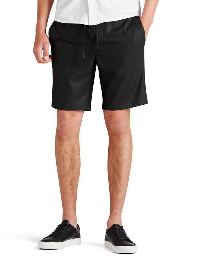 AJUSTÉ SHORTS, Black, large