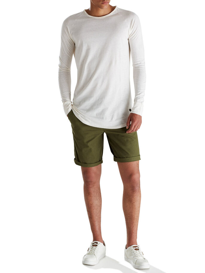 OLIVE NIGHT CHINO SHORTS, Olive Night, large