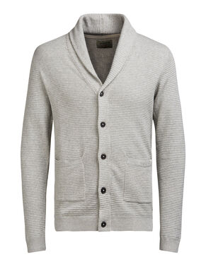 SHAWL NECK CARDIGAN