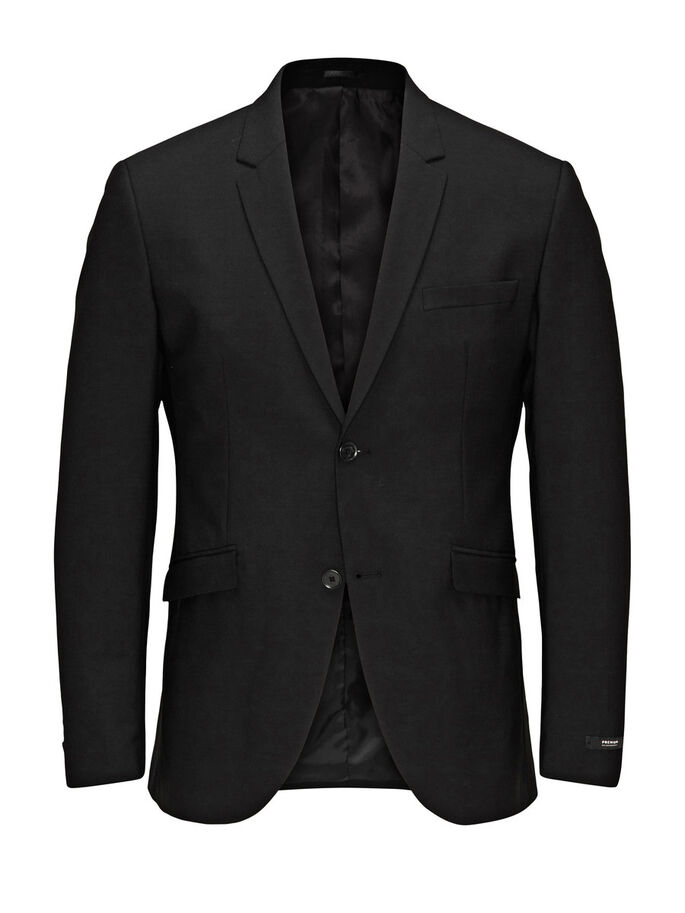 SCHWARZER REGULAR-FIT- BLAZER, Black, large