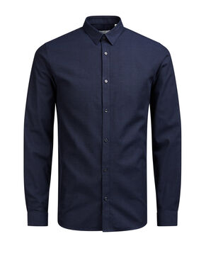 COLLETTO CON BOTTONI CAMICIA A MANICHE LUNGHE