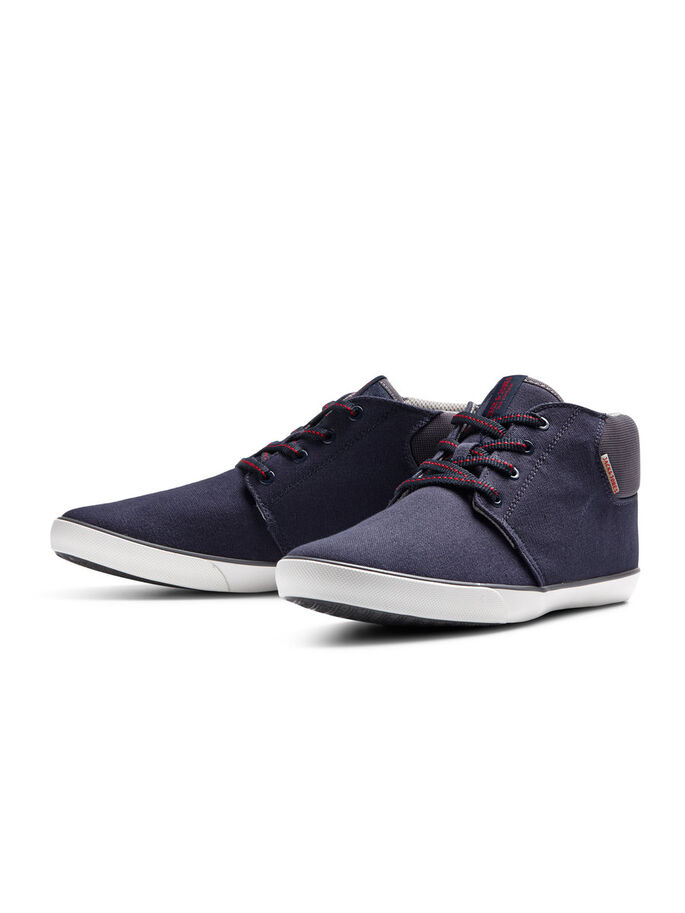 CANVAS SHOES, Navy Blazer, large