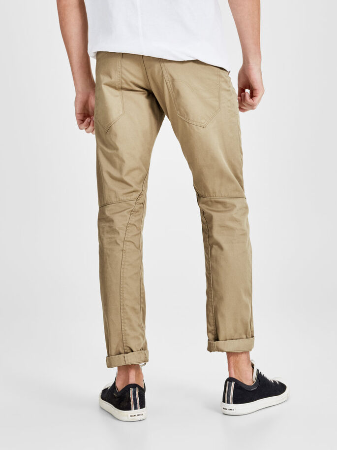 ANTI-FIT CHINOS, Cornstalk, large